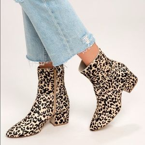 Matisse At Ease Leopard Boots